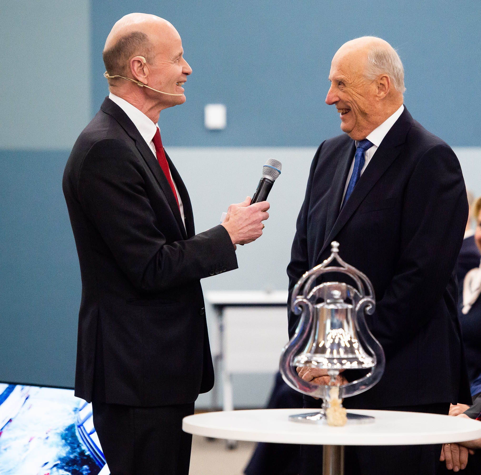 Sven Mollekleiv og Kong Harald