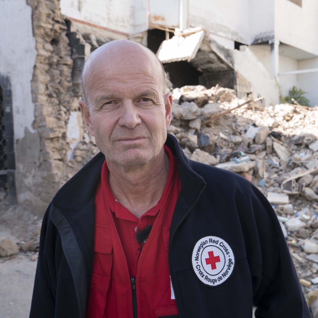 Bilde av Sven Mollekleiv i Syria